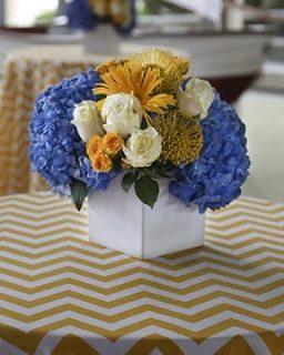 Table floral display